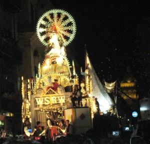 Santa Rosalia fejres