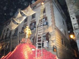 Santa Rosalia fejres hvert ¨r i Palermo mellem den 14. og den 15. juli