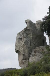 Guerriro Argimusco - Kriger, megalitt fra Argimusco højsletten