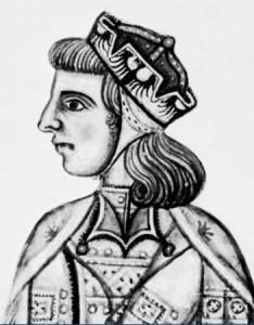 Kong Manfredi af Sicilien Ukendt kunstner