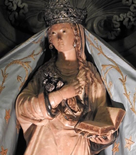 Jomfru Maria skabt af Antonello Gagini. Foto: Kirsten Soele