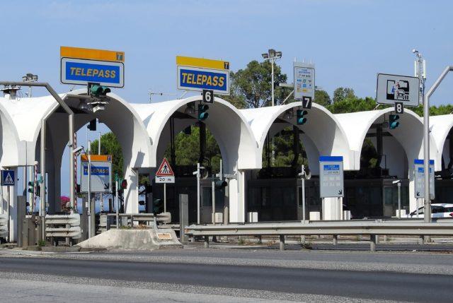 Betaling for kørsel på motorvej. Foto: Kirsten Soele