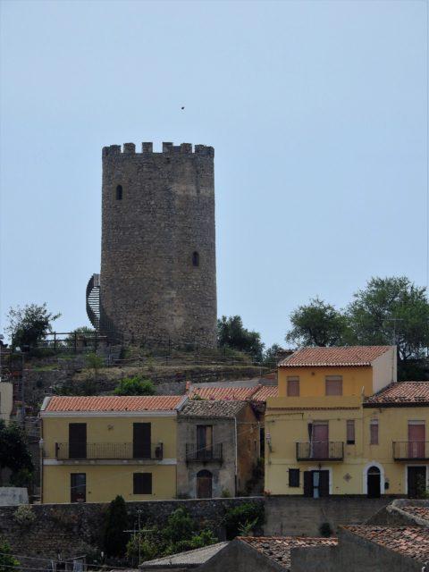Saracenertårnet, påbegyndt i 967 e.kr. Foto: Kirsten Soele