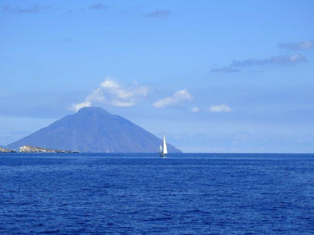 Den Æoliske ø Stromboli. Foto: KirstenSoele