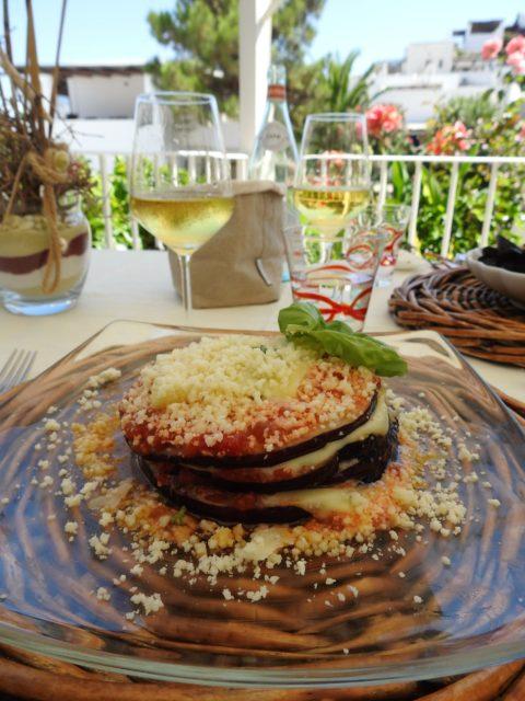 La parmigiana di melanzane, ret med auberginer. Foto: Kirsten Soele