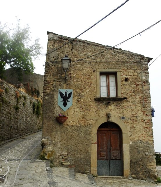 Montalbano Eliconas middelaldercentrum. Foto: © KirstenSoele