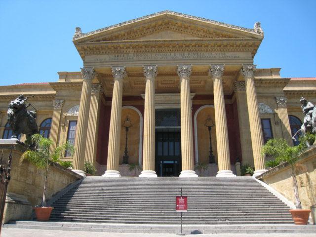 Teatro Massimo, Palermo. Foto: Kirsten Soele