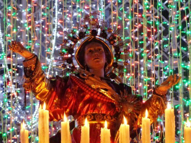Jomfru Maria Himmelfart fejres i august. Foto: Effems, Wikimeia 2014