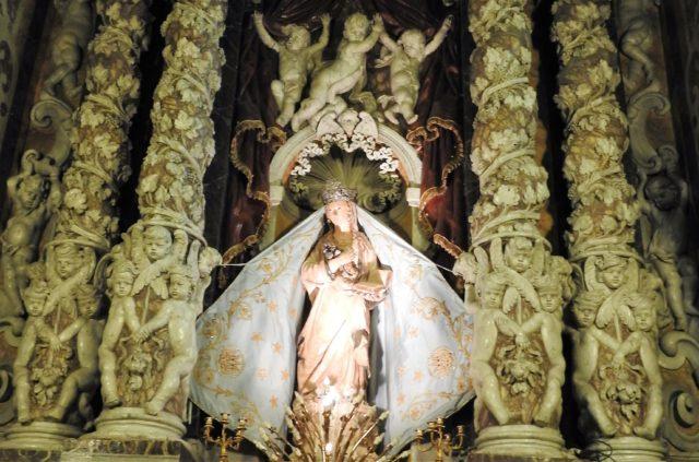 Capella dell'Annunziata af Antonello Gagini i Santuario dell'Annunziata. Foto: KirstenSoele