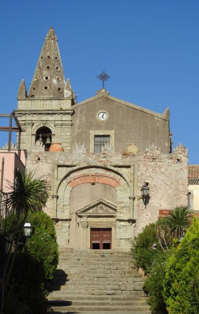 Chiesa della Santissima Annunziata, Forza dAgrò. Foto: KirstenSoele