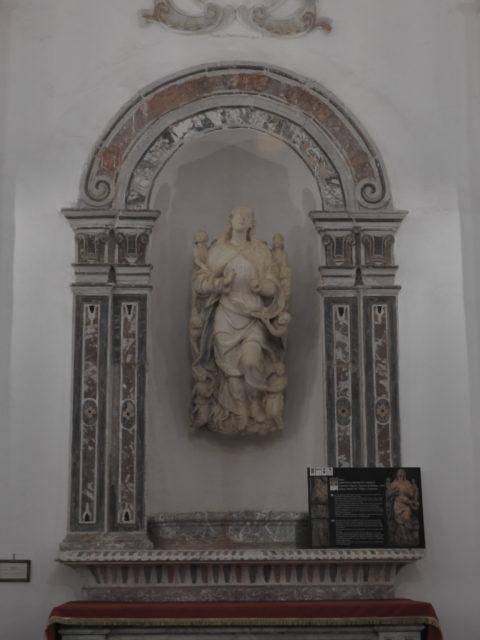 L'Assunta con Angeli i Chiesa Madre. Af Vincenzo Gagini. Foto: KirstenSoele