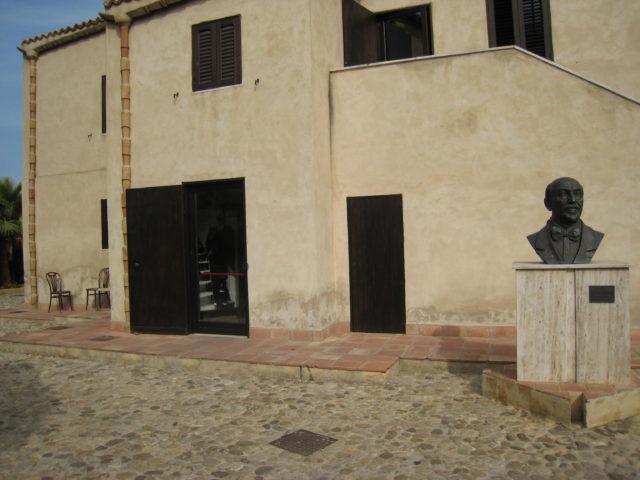 Luigi Pirandellos hus i Caos. Foto: KirstenSoele