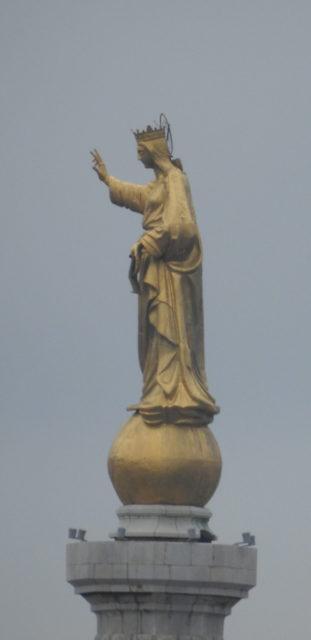 Messinas skytshelgeninde: Madonna della Lettera, Messina. Foto: KirstenSoele