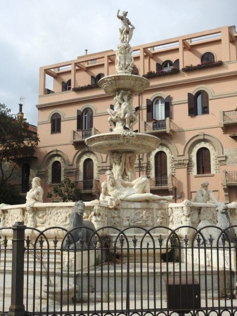 Orionfontænen i Messina. Foto: KirstenSoele
