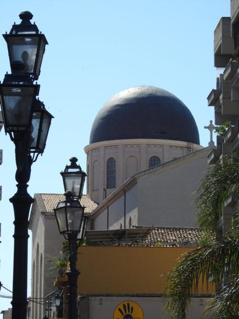 Den nye domkirke i Milazzo. Foto: KirstenSoele