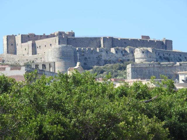 Slottet, Castello di Milazzo. Foto: KirstenSoele