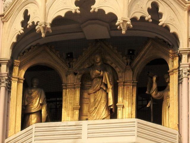 Byens skytshelgeninde, Madonna della Lettera. Foto: KirstenSoele