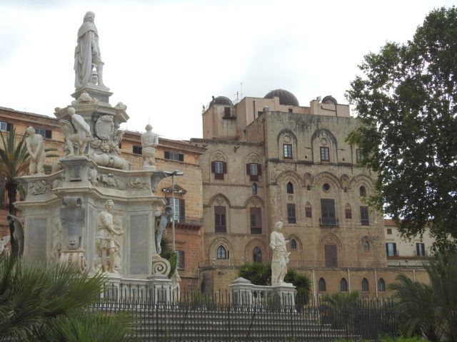 Palazzo dei Normanni, Palermo. Foto: KirstenSoele