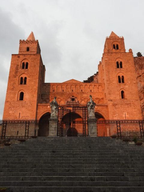 Cattedrale eller Duomo del Santissimo Salvatore i Cefalù. Foto: KirstenSoele