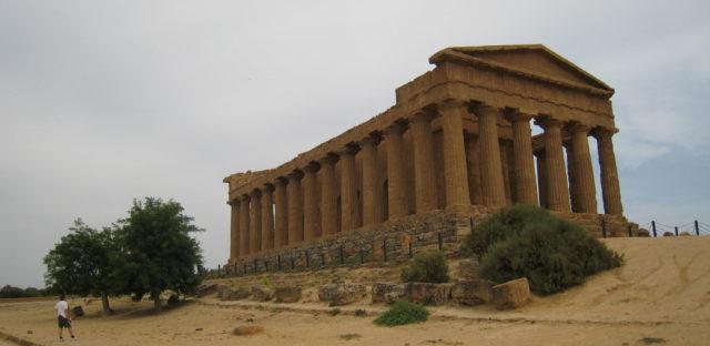 Il tempio di Concordia fra ca. 440 f.kr. Foto: KirstenSoele