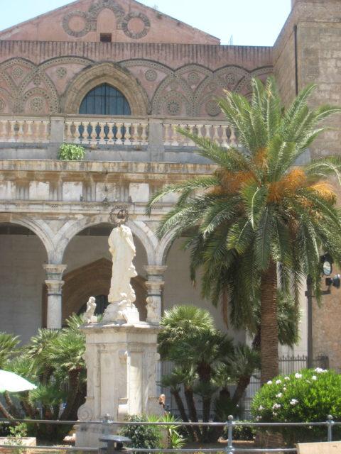 Cattedrale eller Duomo di Santa Maria Nuova i Monreale. Foto: KirstenSoele