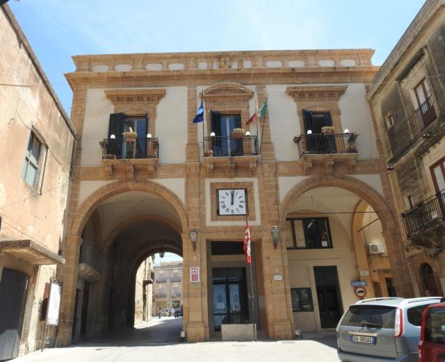 Rådhuset, Palazzo dell'Arpa, Sambuca di Sicilia. Foto: KirstenSoele