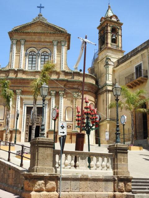 Santuario di Maria SS. dell'Udienza, Sambuca di Sicilia. Foto: KirstenSoele
