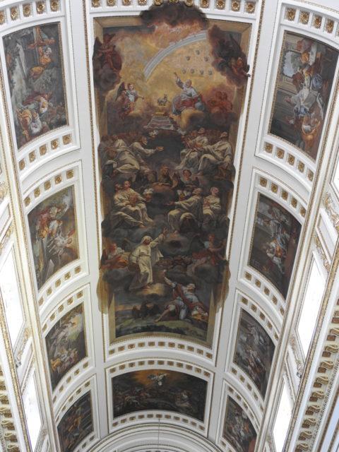 Freskomaleri af Tommaso Rossi, Chiesa Madre Duomo, Sciacca. Foto: KirstenSoele