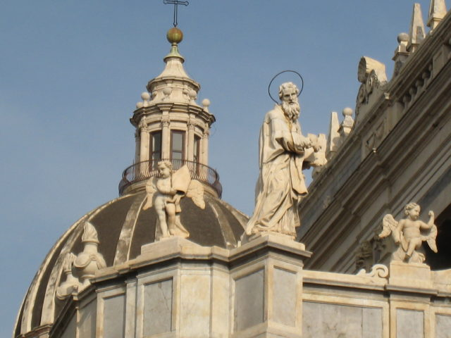Cattedrale di Sant'Agata i Catania. Foto: KirstenSoele