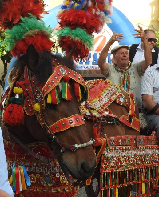 """Festivalen """"Little Sicily"""" i Capo d'Orlando. Foto: KirstenSoele"""