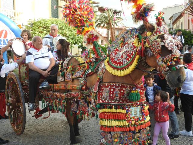 Festivalen Little Sicily i Capo d'Orlando. Foto: KirstenSoele