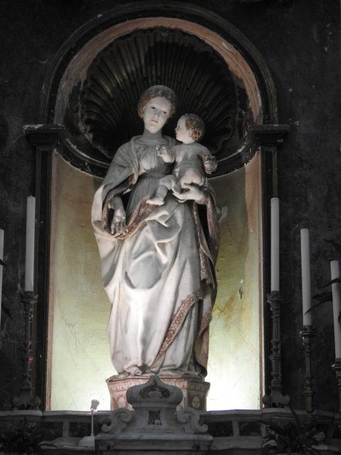 Madonna della Neve af Antonello Gagini. Foto: KirstenSoele