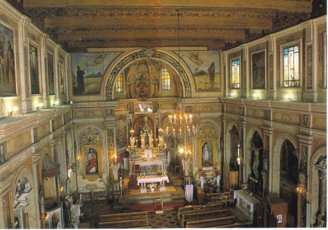 San'Onofrio kirken i Casalvecchio Siculo. Foto: Antonio Casablanca, Wikimedia 2007