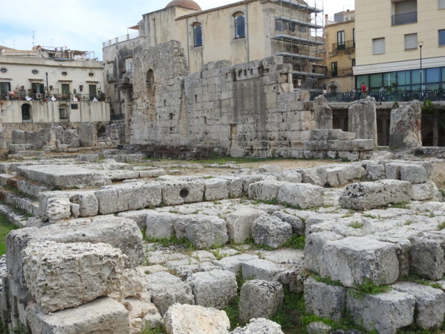 Apollotemplet i Siracusa. Foto: KirstenSoele