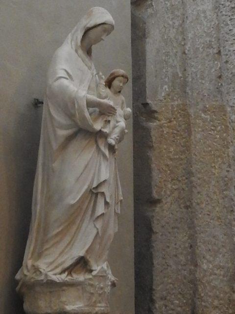 Madonna col Bambino, af Domenico Gagini, 15. årh. Foto: KirstenSoele