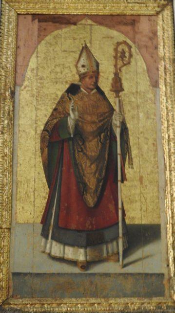 San Zosimo af Antonella da Messina. Foto: KirstenSoele
