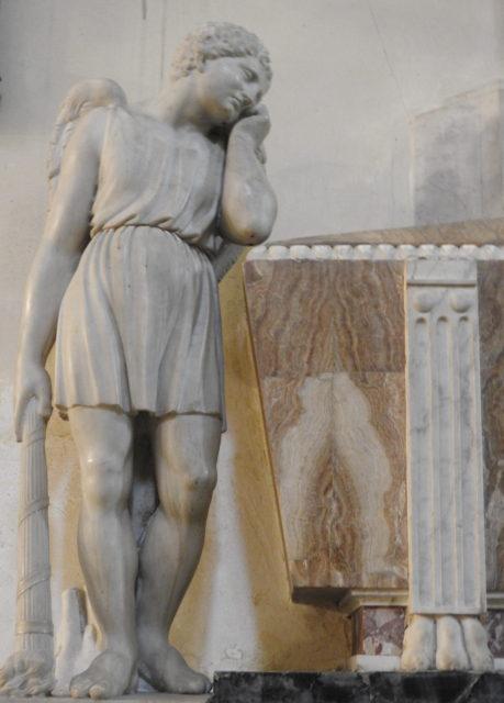 Skulptur i Cappella Duomo Siracusa. Foto: KirstenSoele