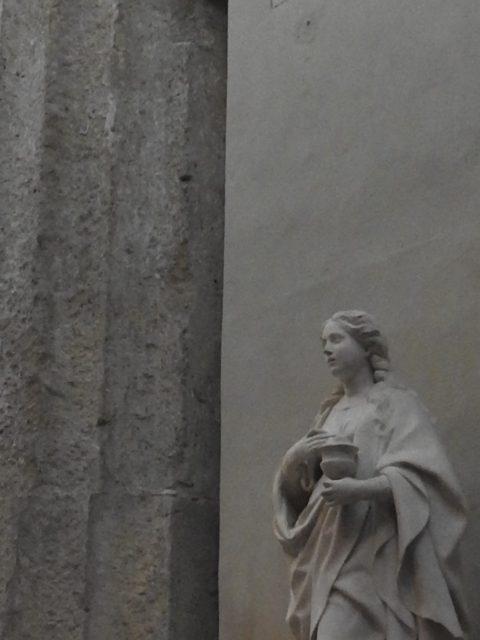 Santa Lucia af Antonello Gagini, 1527. Foto: KirstenSoele