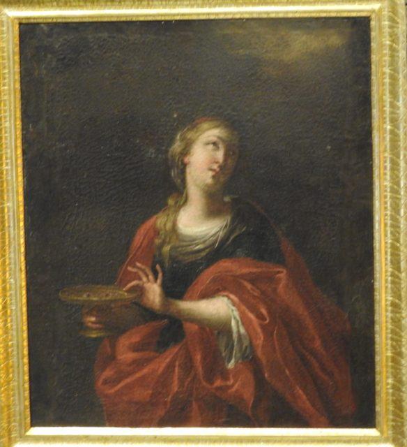 Vergine Lucia da Siracusa, udført omkring det 13. årh, ukendt kunstner. Foto: KirstenSoele