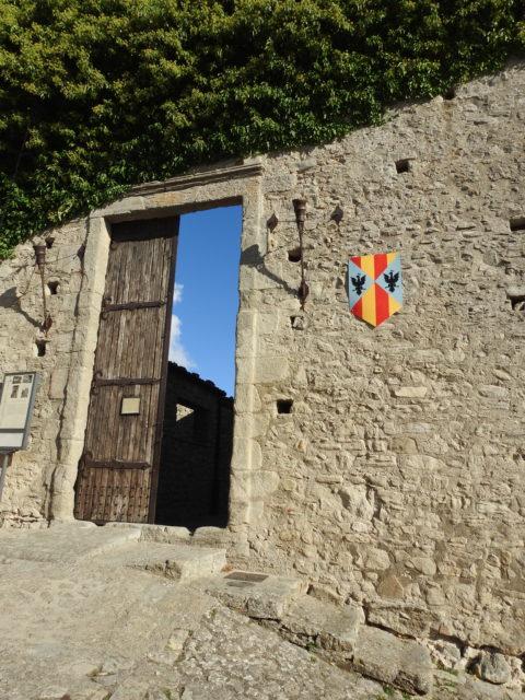 Indgangen til slottet. Foto: KirstenSoele