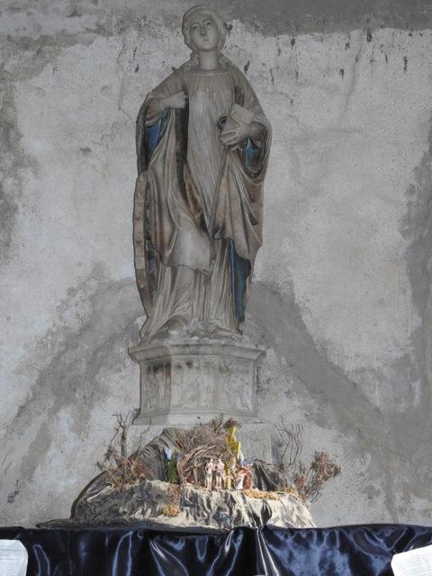 Santa Caterina d'Alessandria. Skulpturen er formentlig af Antonello Gagini. Foto: KirstenSoele