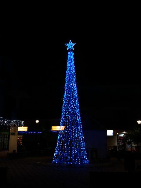 Juletræ i San Giorgio (ME). Foto: KirstenSoele
