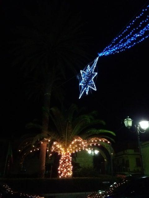 Juleudsmykning i Gioiosa Marea. Foto: KirstenSoele