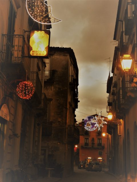 Julestemning i Novara di Sicilia. Foto: KirstenSoele