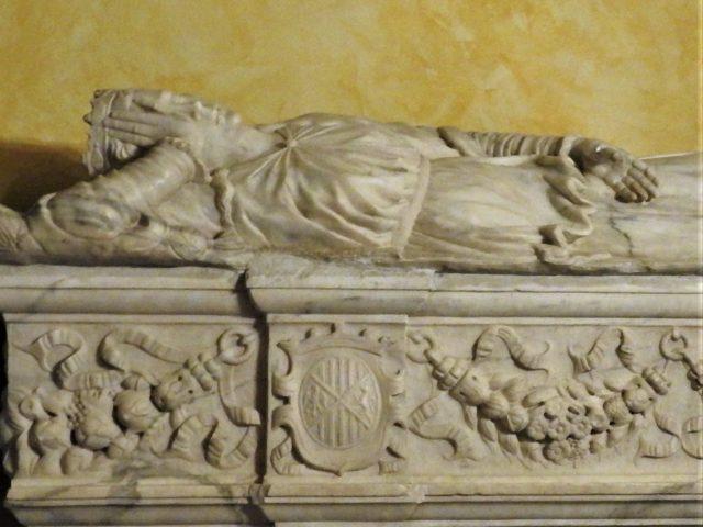 Dronning Adelesias del Vastos sarkofag. Foto: KirstenSoele