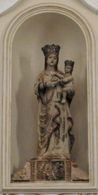 Madonna med barnet, af Antonio Vanella. Foto: KirstenSoele