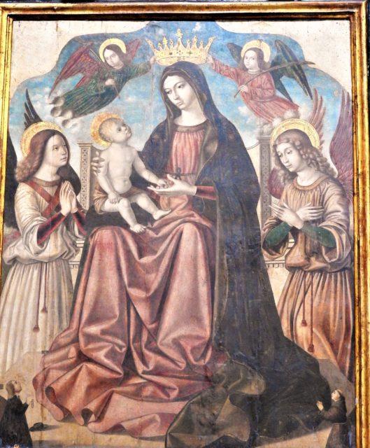 Madonna med barnet af Antonello de Saliba. Foto: KirstenSoele
