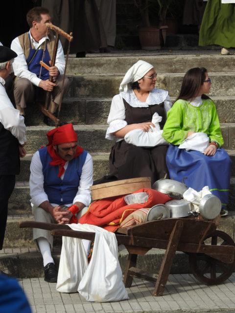Dramatisering af de begivenheder, der førte til udvandringen fra Gioiosa Guardia. Foto: KirstenSoele