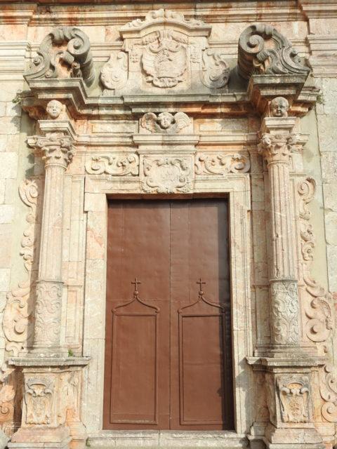 Indgangsporten til Chiesa dell Aracoeli. Foto: KirstenSoele