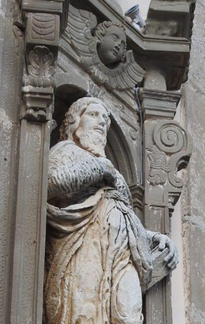 San Filippo skabt af Baldassarre Greco. Basilica della Madonna della Catena. Foto: KirstenSoele